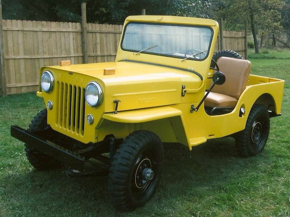 Dad's 1953 Willys CJ3B