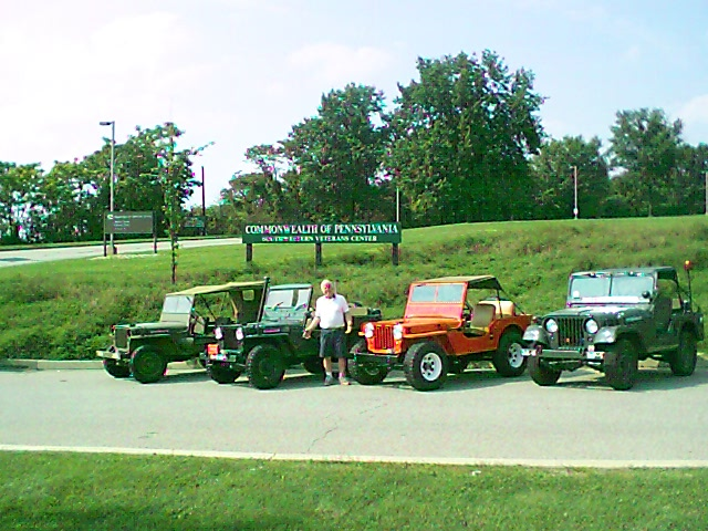 Dad and All of His Jeeps